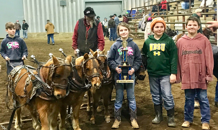 ND Winter Show Pony Pull