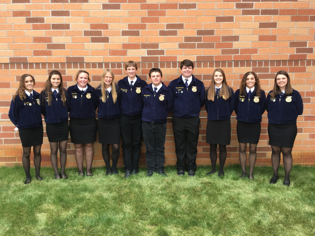 FFA Officer Team 2019-2020