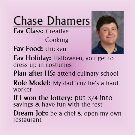 Chase Dhamers